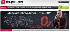 Startseite von All-inkl.com der zuverlässige Partner für dein Webhosting.