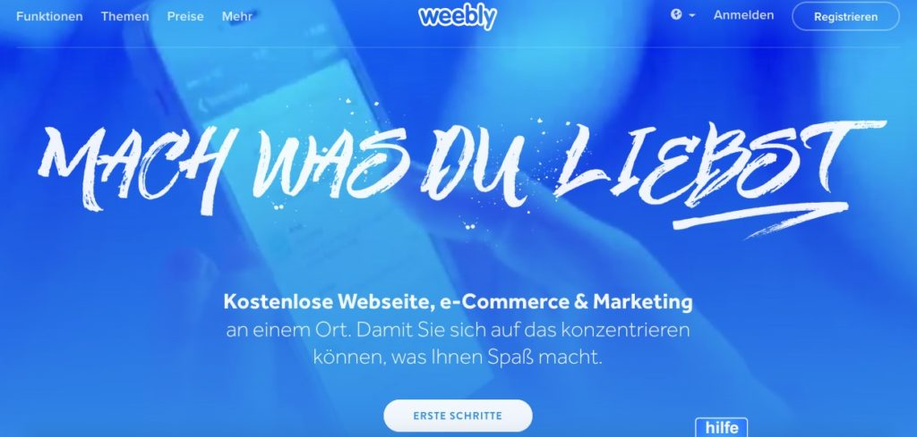 Weebly als Freehoster als Alternative zu All-Ink
