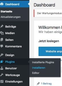 Wie man ein WordPress Plugin installiert