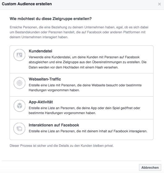 Wie-Online-Geldverdienen.de Facebook Werbung für Infoprodukte mit Facebook Custom Audience
