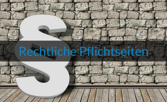 Blog Bild Wie-Online-Geldverdienen.de zeigt dir die wichtigsten Rechtlichen Pflichtseiten