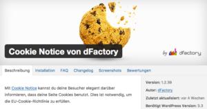 Wie-Wie-Online-Geldverdienen.de zeigt Dir wie Du Deine rechtlichen Pflichtseiten erstellst. Wie Du Deine Webseitenbesucher über Cookies mit Cookie Notice informierst.