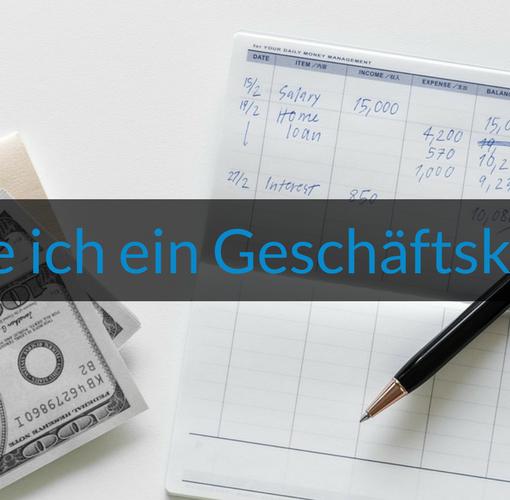 Titelbild Wie-Online-Geldverdienen.de zeigt dir ob du ein Geschäftskonto benötigst und worauf du achten solltest.