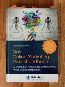 Wie-Online-Geldverdienen.de, Buchempfehlungen, Thomas Klußmann, Das Online Marketing Praxishandbuch.