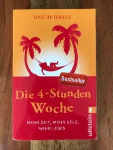Wie-Online-Geldverdienen.de, Buchempfehlungen, Timothy Ferris, Die 4 Stunden Woche, Mehr Zeit, Mehr Geld, Mehr Leben.