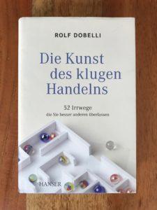 Wie-Online-Geldverdienen.de, Buchempfehlungen, Rolf Dobelli, Die Kunst des klugen Handelns.