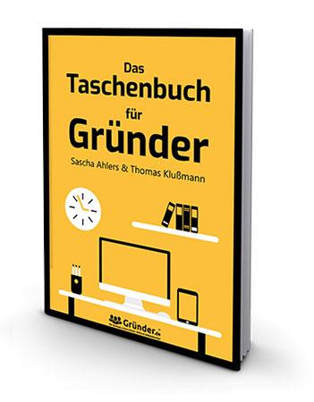 Wie-Online-Geldverdienen.de, Buchempfehlungen, Thomas Klußmann , Das Taschenbuch für Gründer Cover