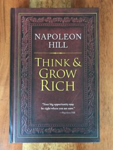 Wie-Online-Geldverdienen.de, Buchempfehlung Napoleon Hill, Think and Grow Rich.
