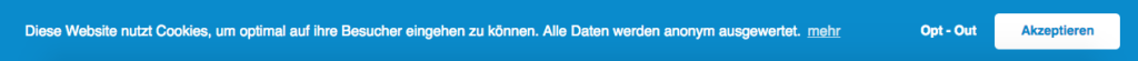 Wie-Online-Geldverdienen.de, Facebook Pixel Opt-In / Opt-Out, Cookie Hinweis