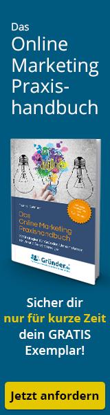 Wie-Online-Geldverdienen.de, Buchempfehlungen, Thomas Klußmann, Das Online Marketing Praxishandbuch. Banner
