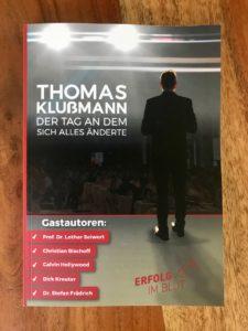 Wie-Online-Geldverdienen.de, Buchempfehlungen, Thomas Klussmann, der Tag an dem sich alles änderte, Cover