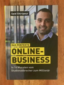Wie-Online-Geldverdienen.de, Buchempfehlungen, Said Shiripour, Das perfekte Online Business, Cover