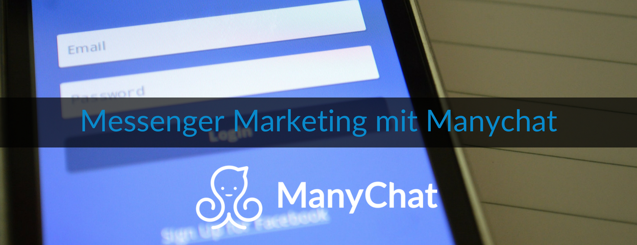 Wie-Online-Geldverdienen.de, Facebook Messenger Marketing mit Manychat