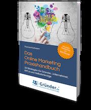 Wie-Online-Geldverdienen.de, Buchempfehlungen, Thomas Klußmann , Das Online Marketing Praxishandbuch Cover