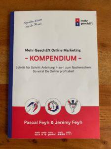 Wie-Online-Geldverdienen.de, Buchempfehlungen, Pascal Feyh , Das Online Marketing Kompendium Cover
