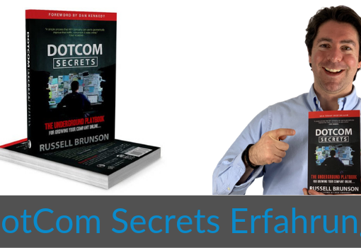 Wie-Online-Geldverdienen.de, Buchempfehlungen, Russell Brunson, DotCom Secrets Erfahrung Cover Blog Bild