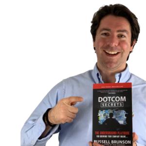 Wie-Online-Geldverdienen.de, Buchempfehlungen, Russell Brunson, DotCom Secrets Cover DotCom Secrets Review