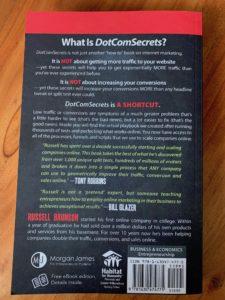 Wie-Online-Geldverdienen.de, Buchempfehlungen, Russell Brunson, DotCom Secrets Back DotCom Secrets Review