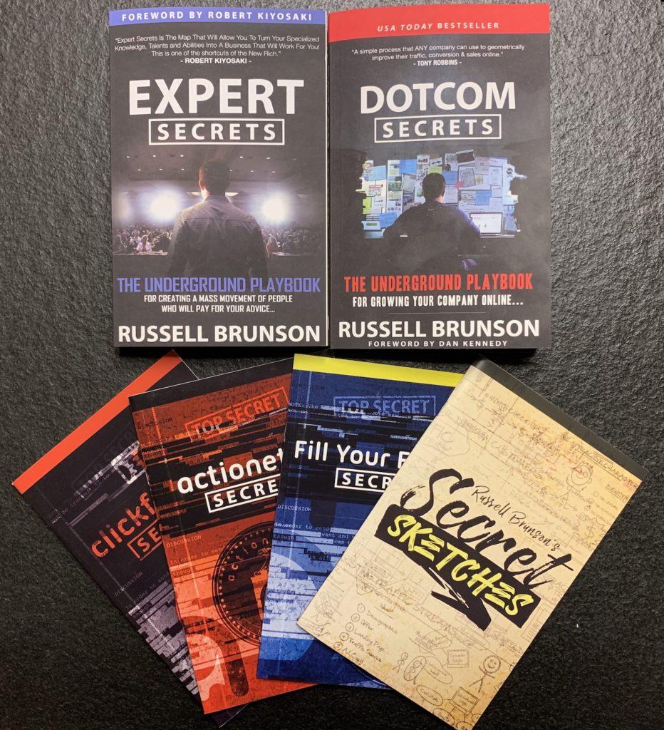 Wie-Online-Geldverdienen.de, Buchempfehlungen, Russell Brunson, Funnelhacker Blackbox Inhalt