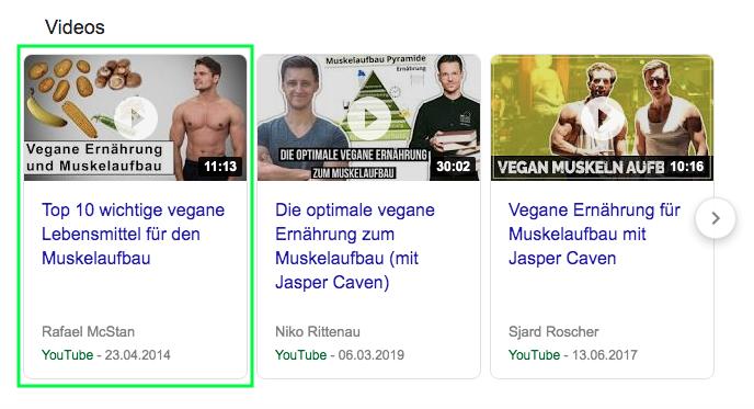 Wie-Online-Geldverdienen.de, Affiliate Marketing ohne Webseite mit YouTube, Google Suchvolumen mit der Anzeige von YouTube Videos