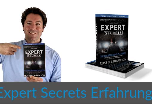 Wie-Online-Geldverdienen.de, Buchempfehlungen, Russell Brunson, Expert Secrets Erfahrung Cover Blog Bild