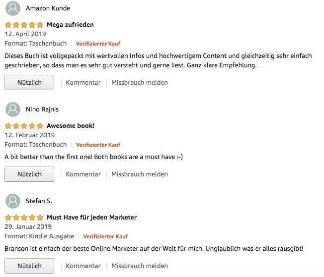 Wie-Online-Geldverdienen.de, Buchempfehlungen, Russell Brunson, Expert Secrets Erfahrung Amazon Deutschland Bewertung