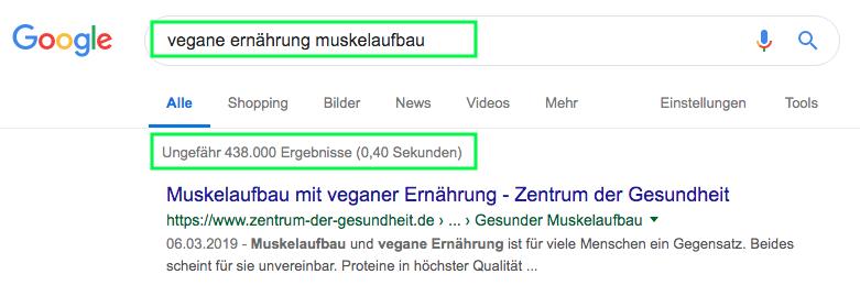 Wie-Online-Geldverdienen.de, Affiliate Marketing ohne Webseite mit YouTube, Google Suchvolumen für Nischenseite