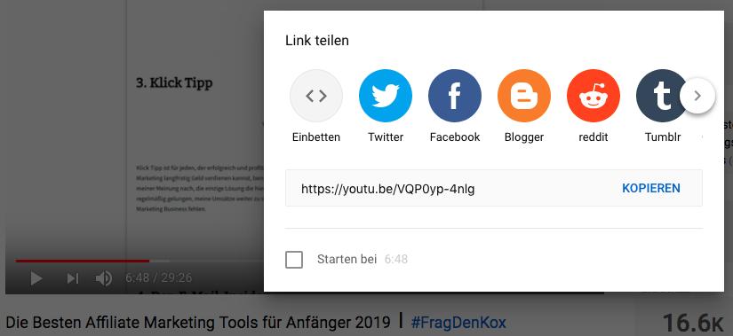 Wie-Online-Geldverdienen.de, Affiliate Marketing ohne Webseite mit YouTube, YouTube Video Reichweite erhöhen