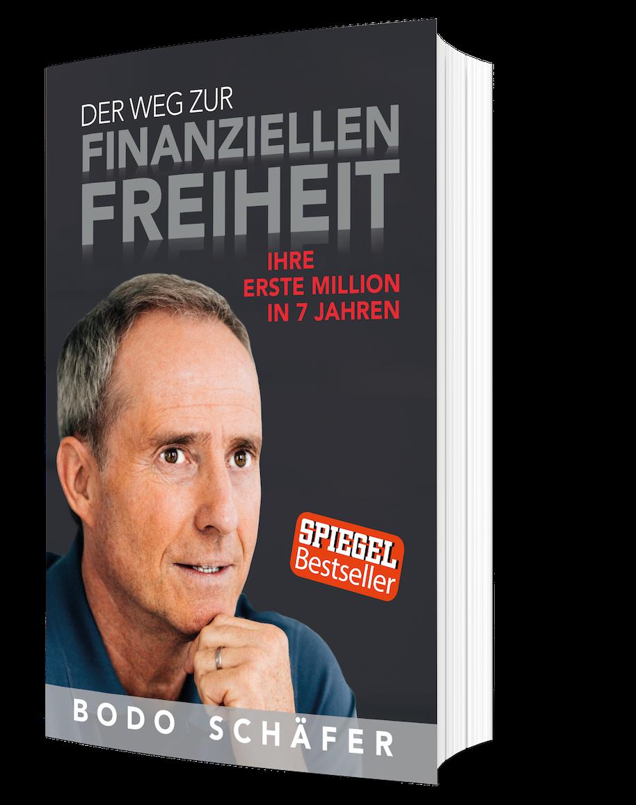 Wie-Online-Geldverdienen.de, Buchempfehlungen, Bodo Schäfer, Der Weg zur finanziellen Freiheit Cover Bild