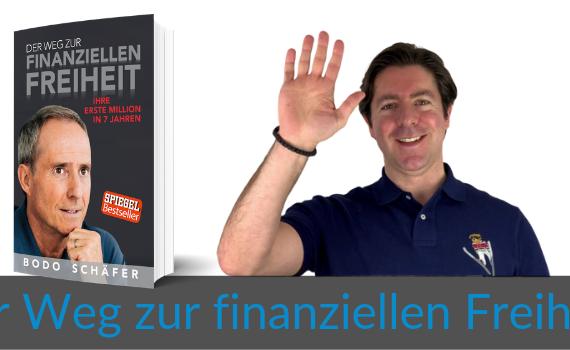 Wie-Online-Geldverdienen.de, Buchempfehlungen, Bodo Schäfer, Der Weg zur finanziellen Freiheit Blog Titelbild
