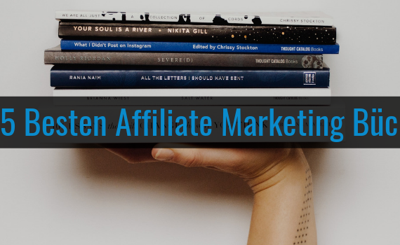 Wie-Online-Geldverdienen.de, Besten Bücher für Affiliate Marketing, Blog Titelbild