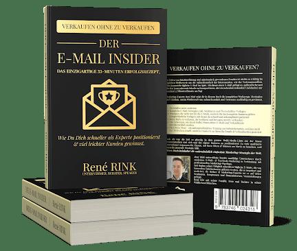 Wie-Online-Geldverdienen.de, Besten Bücher für Affiliate Marketing, Rene Rink, Der E-Mail Insider Buch Cover