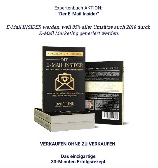 Wie-Online-Geldverdienen.de, Wie du mehr Geld mit Digistore24 verdienen kannst, E-Mail Marketing Sales Page