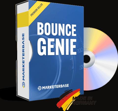 Wie-Online-Geldverdienen.de, Affiliate Marketing Einnahmen steigern mit Bounce Genie, Produktbild