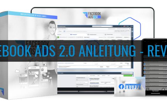 Wie-Online-Geldverdienen.de, Nico Lampe, Blog Titelbild der Facebook ads 2.0 anleitung