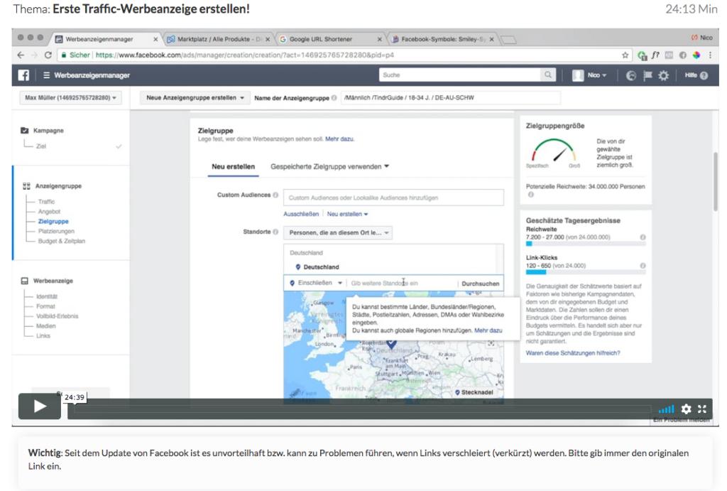 Wie-Online-Geldverdienen.de, Nico Lampe, facebook ads 2.0 anleitung, case study