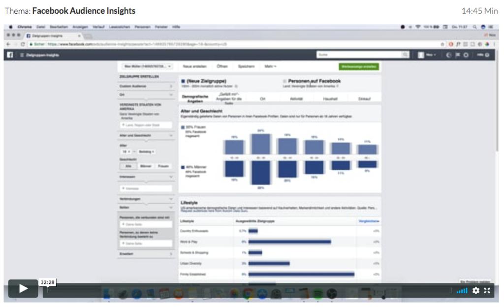 Wie-Online-Geldverdienen.de, Nico Lampe, Audience Insights, Facebook Ads 2.0 Anleitung