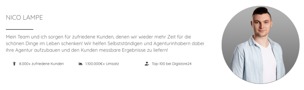 Wie-Online-Geldverdienen.de, Nico Lampe LocalMessage Werbeagentur