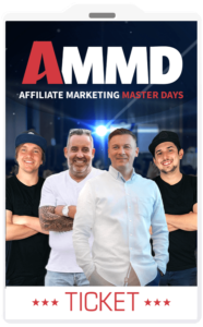 Wie-Online-Geldverdienen.de, Affiliate Marketing Master Days, Dein exklusives Ticket
