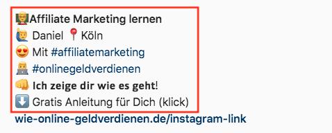 Wie-Online-Geldverdienen.de, Wie Online Geld verdienen Instagram Account Name, Mit Instagram Geld verdienen