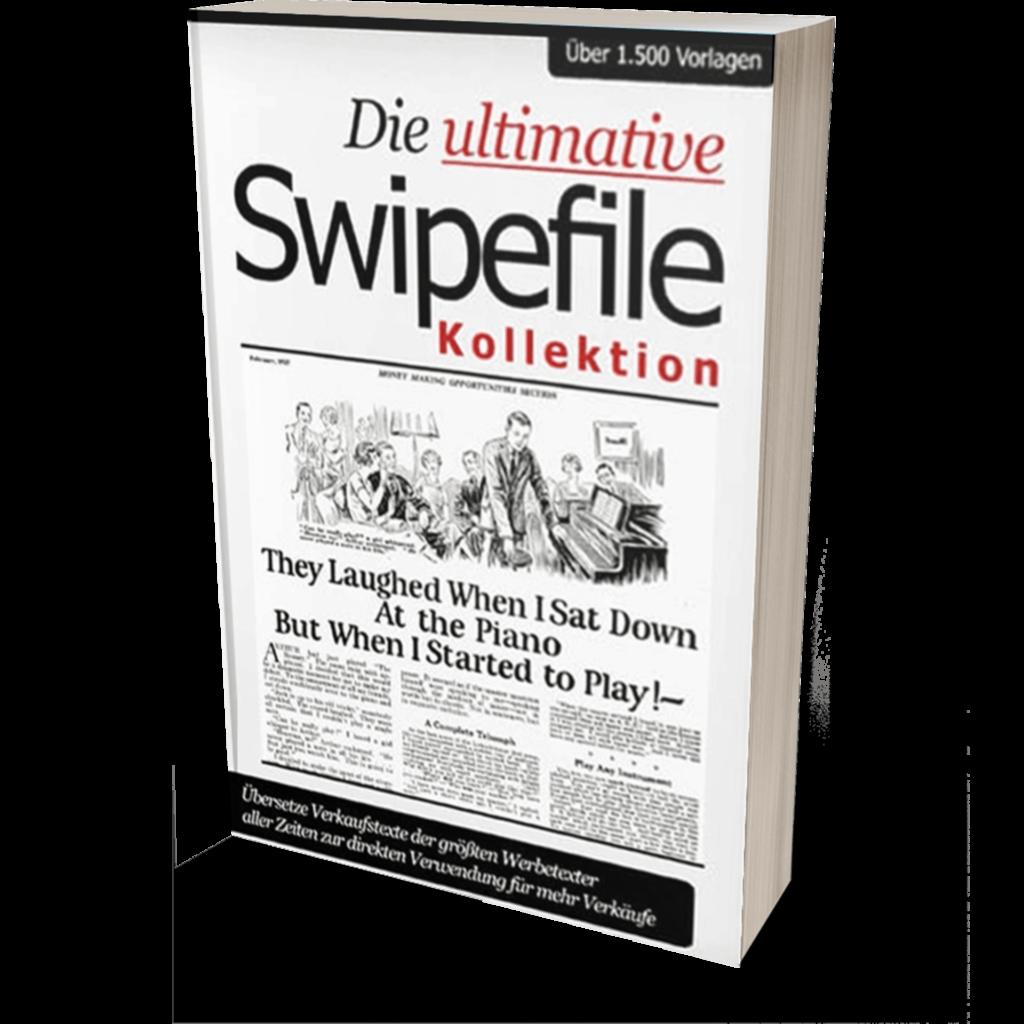 Mario Burgard - Die Upltimative Swipefile Kollektion - Top 5 E-Mail Marketing Bücher 2021