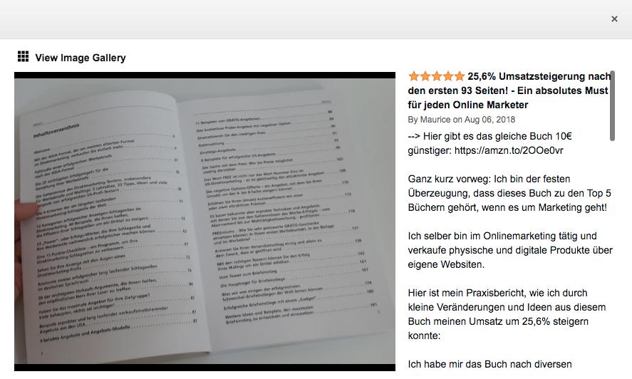 Mehr Geld und mehr Erfolg mit Direktmarketing - Werbebriefen - E-Mails und mehr von Axel Andersson Erfahrung - Top 5 E-Mail Marketing Bücher 2021