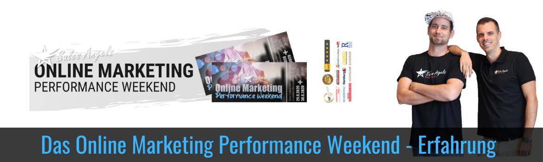 Online Marketing Performance Weekend Erfahrung - Jens Neubeck