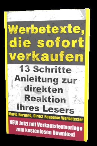 Mario Burghard - Webetexte-die-sofort-verkaufen - Top 5 E-Mail Marketing Bücher 2021