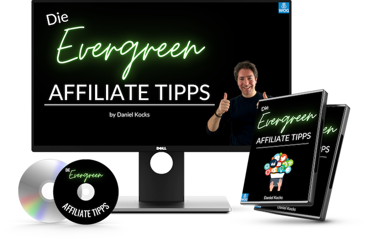 Die Evergreen Affiliate Tipps - Cover