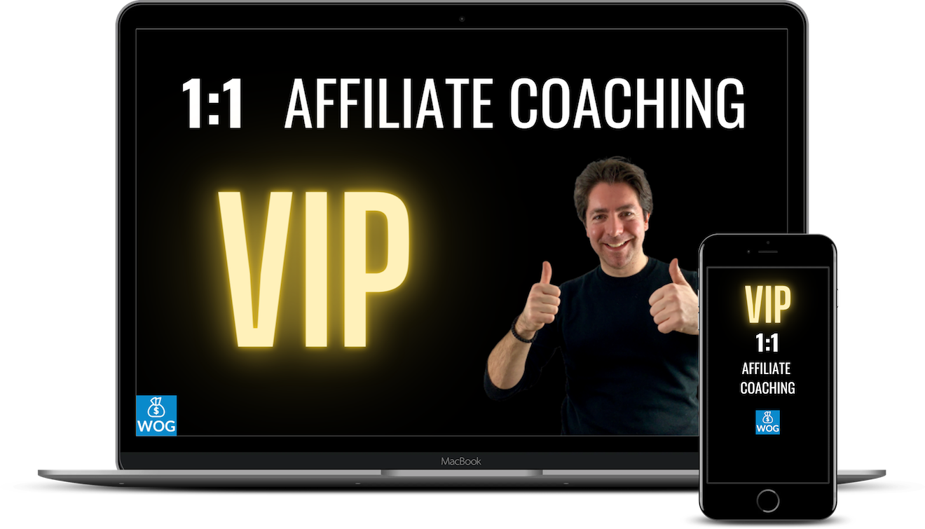 1:1 VIP Affiliate MArketing Coaching mit Daniel Kocks