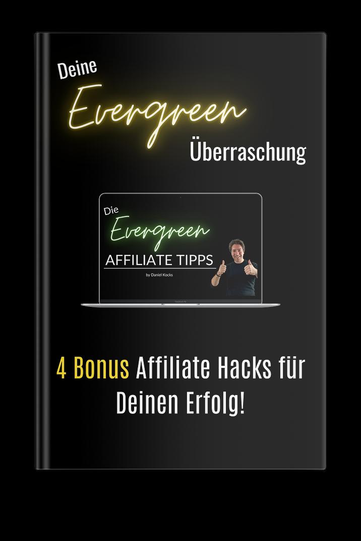 Evergreen Affiliate Tipps Bonus