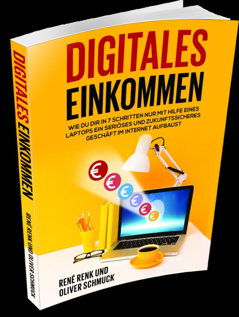 Das Buch Digitales Einkommen von Rene Renk und Oliver Schmuck, Affiliate Tools